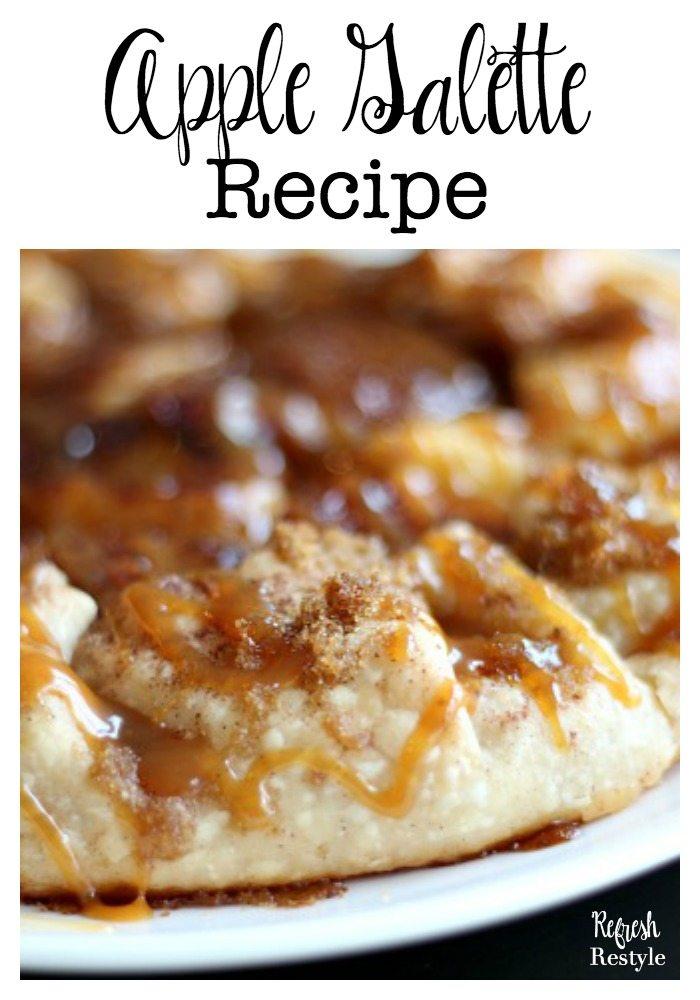 Apple Galette Recipe - Yummy