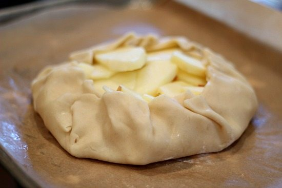 Apple Galette with Pie Crust