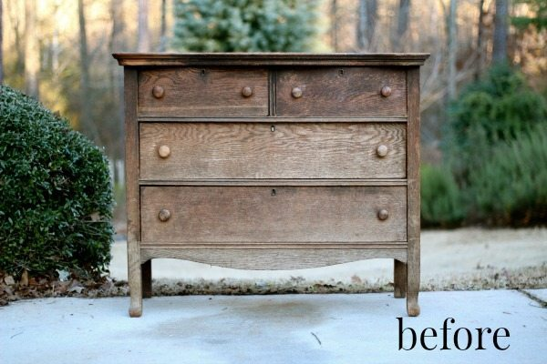 Dresser Makeover Before and awesome makeover