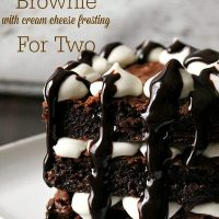 Hot Fudge Brownie Recipe