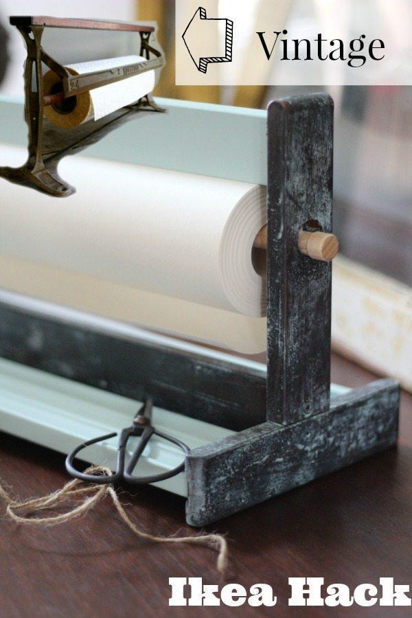 Ikea Hack Mala of a Vintage Paper Cutter