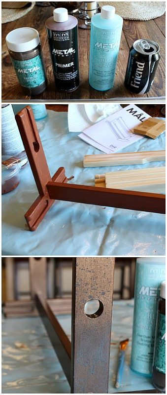 Ikea Hack to create a vintage paper cutter