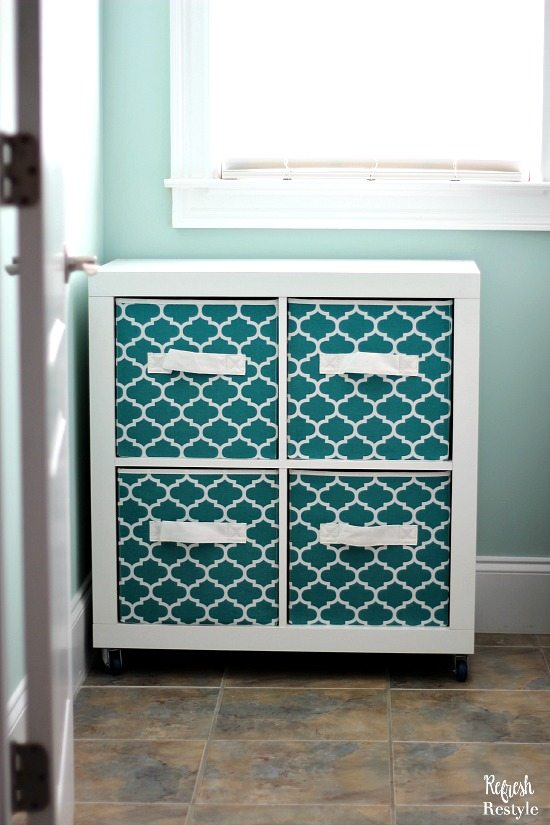 Laundry Room Makeover 4 Cube storage Better Homes and Gardens
