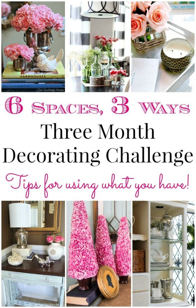 Decorating Tips for using what you already have!