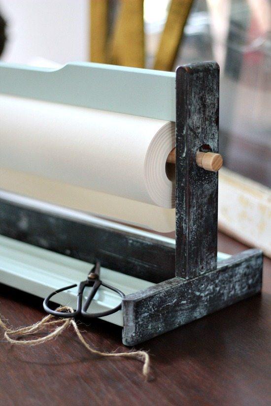Vintage Paper cutter Mala Ikea hack