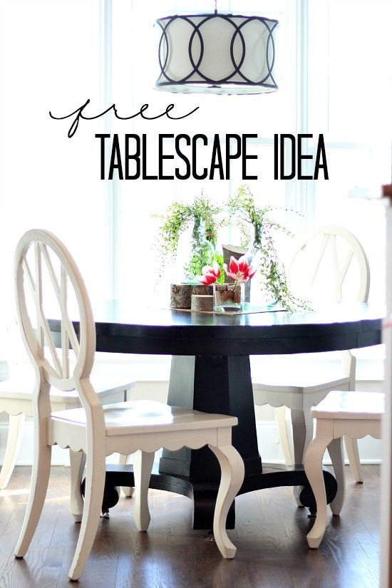 Decorate your table for free,let me show you how.