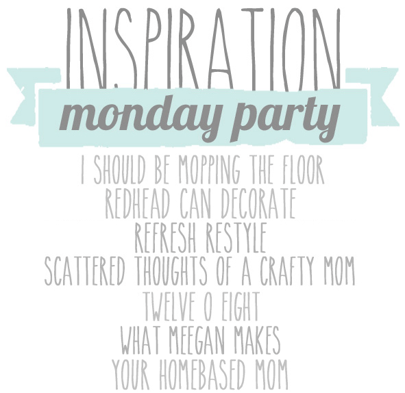 Inspiration Monday DIY, Recipes, Crafts and More
