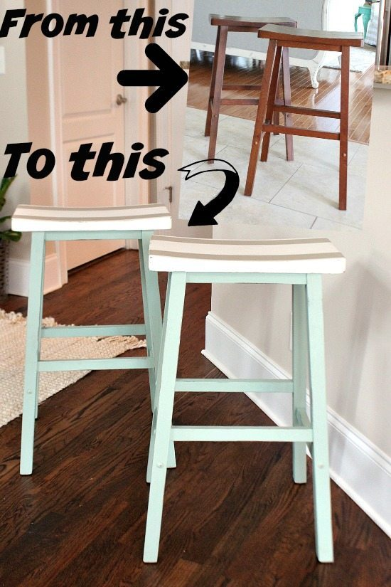 Saddle Seat Bar Stools Refresh Restyle