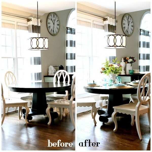 Before and After no cost decorating