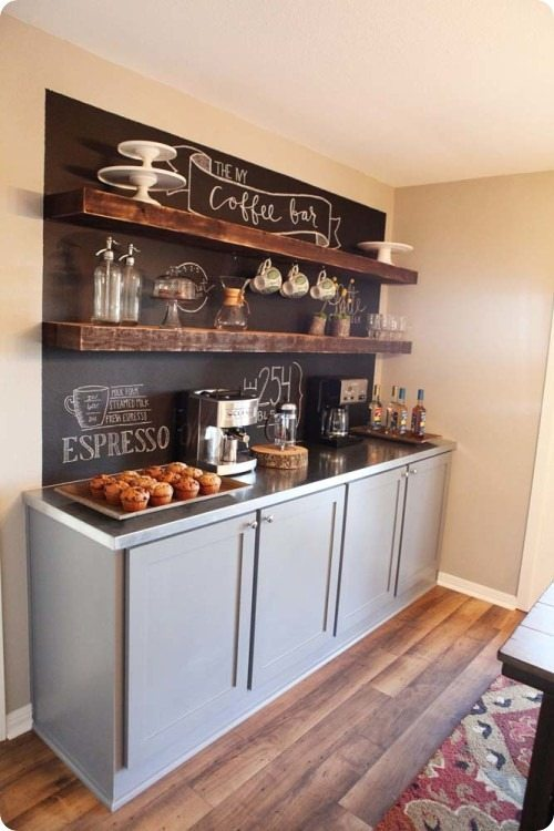 DIY Chalkboard Ideas Refresh Restyle : Coffee Bar Joanna Gaines Fixer Upper from refreshrestyle.com size 500 x 750 jpeg 60kB