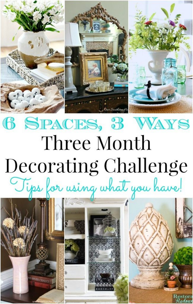 DIY No Cost Decorating