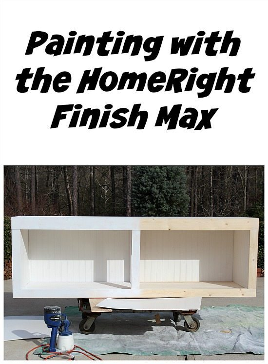 Painting with the HomeRight Finish Max