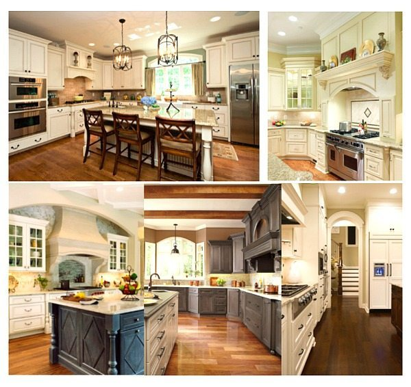Painting the kitchen cabinets - ideas for a lighter kitchen