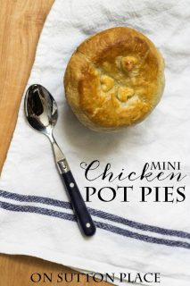 On Sutton Place mini-chicken-pot-pies-puff-pastry