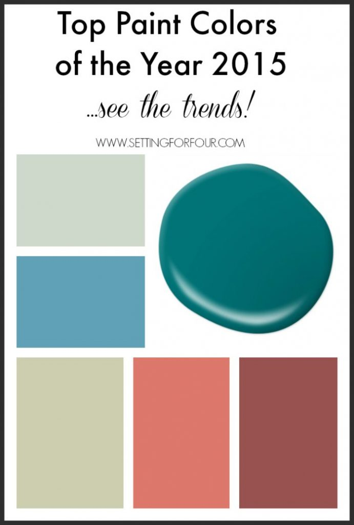 Setting For Four Paint Colors