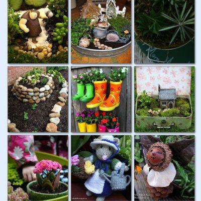 DIY ideas for an enchanting mini garden.