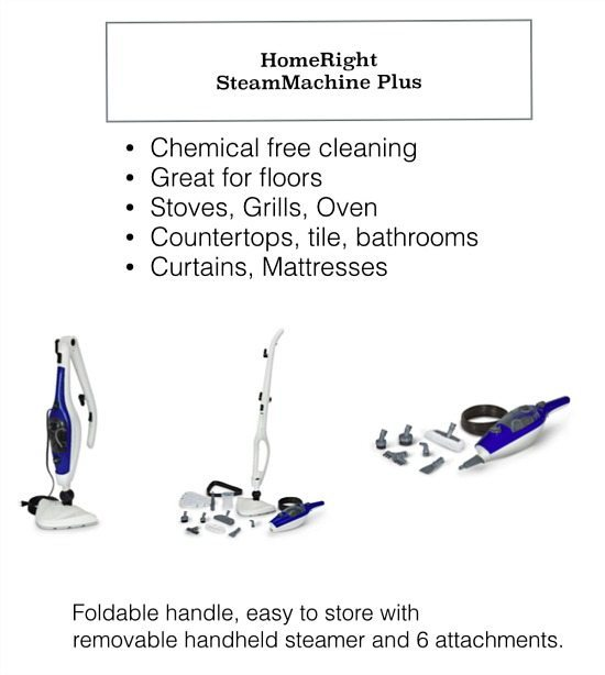 Chemical free cleaning ideas with SteamMachine Plus