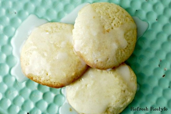Delicious lime cookies yum