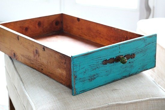 Drawer Front - use to create a serving tray