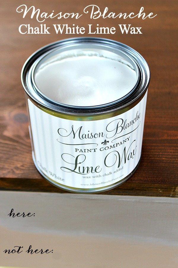 Maison Blanche Chalk White Lime Wax