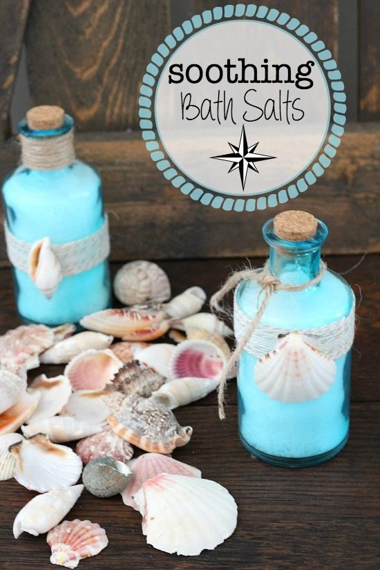 Make your own Soothing Bath Salts