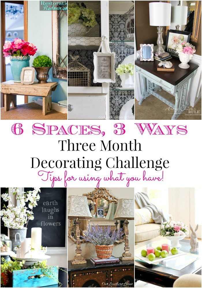 Month 3 of Decorating Challenge