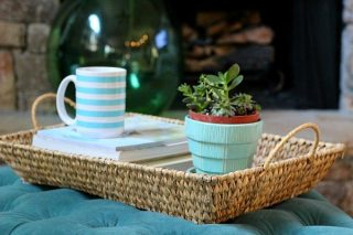 Baskets in decor