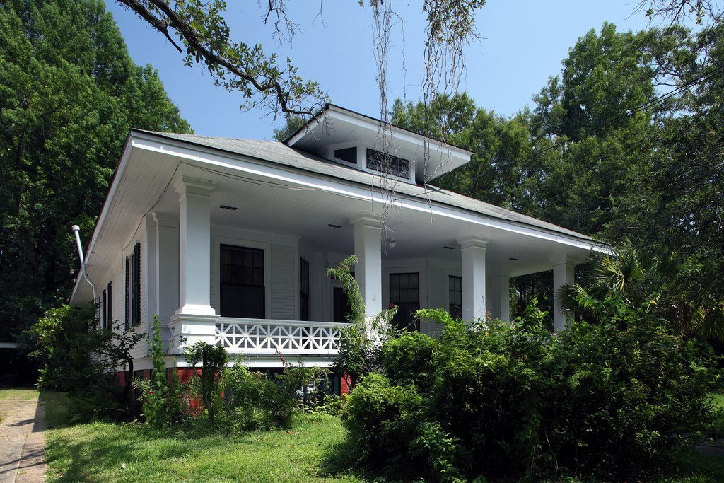 Historic Ford House in Mobile Alabama