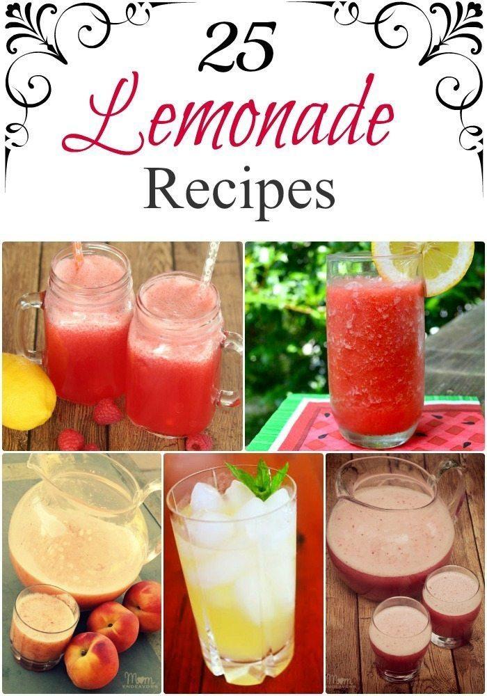25 Refreshing Lemonade Recipes