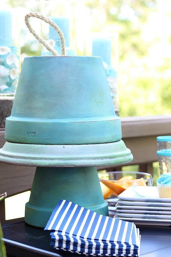 Clay pot cloche