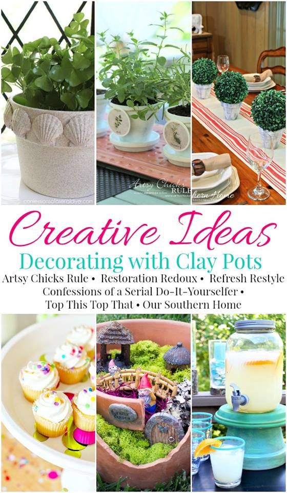 Creative Clay Pot Ideas | Refresh Restyle