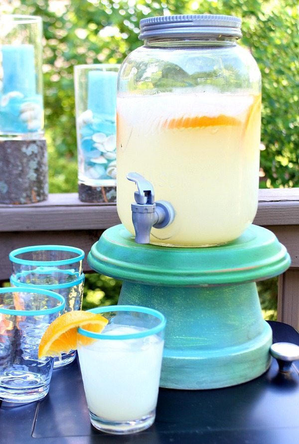 How to make a clay pot beverage server