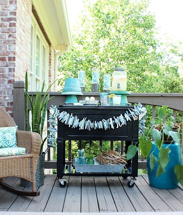 Ideas to repurpose clay pots in to serving pieces