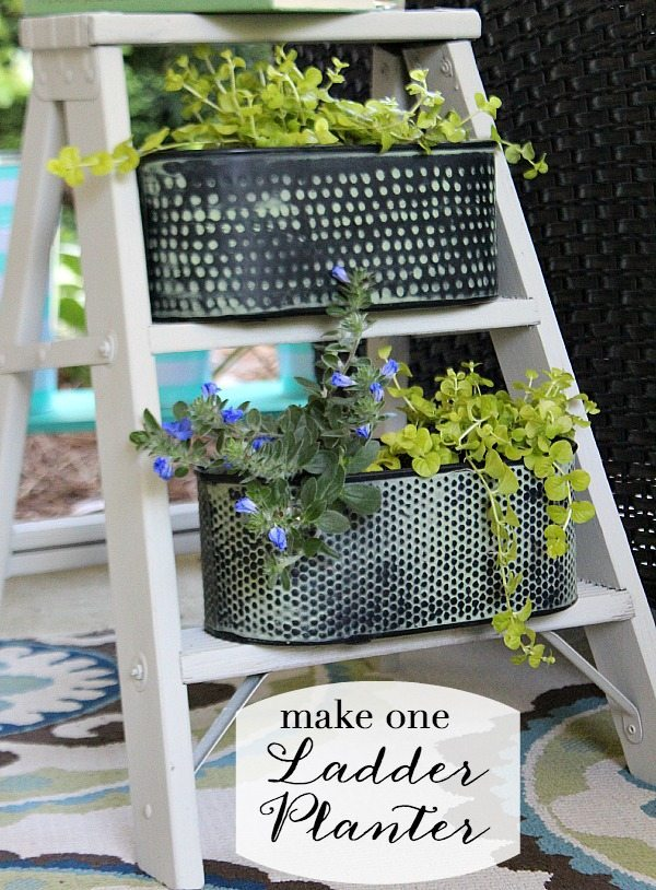 Ladder Planter DIY - Make one today!