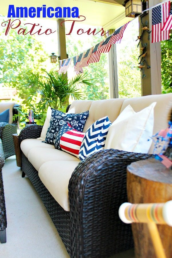 Red White And Blue Americana Decor