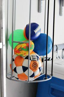 Ball Storage In The Garage