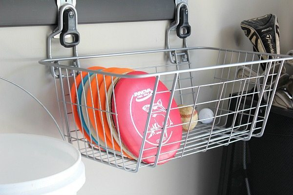 Basket for Disc Golf supplies