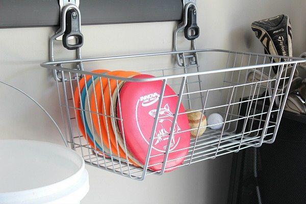 Basket for Disc Golf supplies