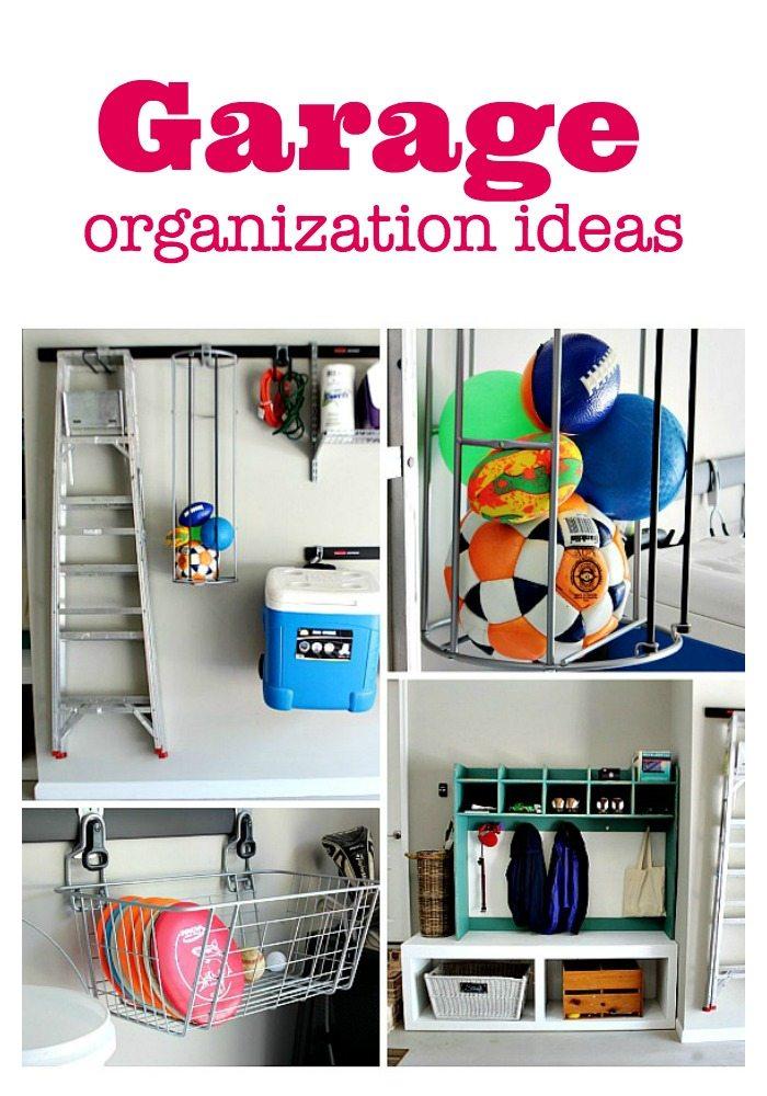 Garage Ideas to get organized