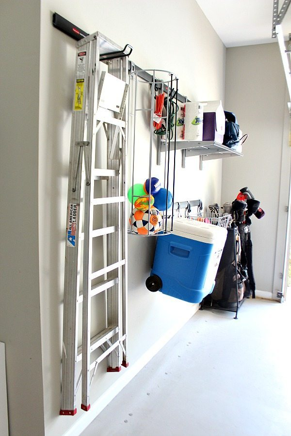 Garage Organizing with FastTrack go vertical
