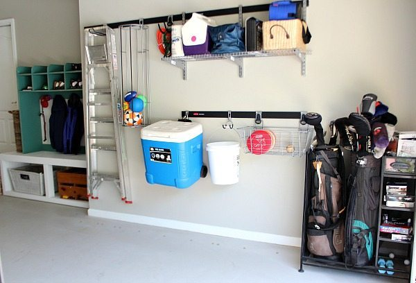Garage Organizing with FastTrack