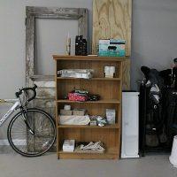 Garage storage with FastTrack