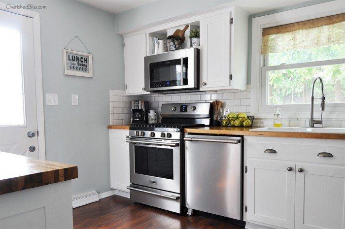 Kitchen Cabinet Altered