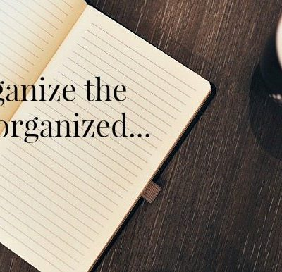 Organizing the Garage, tips from an unorganized woman