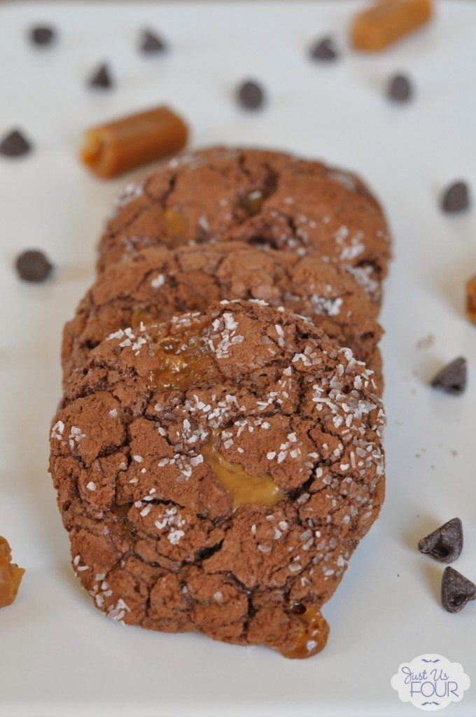 01 - Just Us Four - Chocolate Salted Caramel Cookies