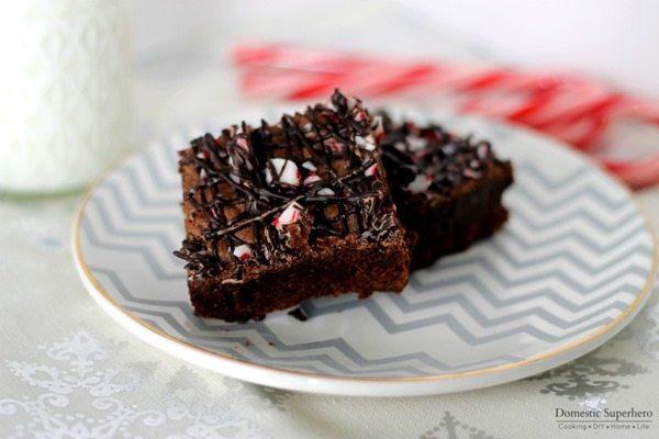 02 - Domestic Superhero - Dark Chocolate Peppermint Brownies