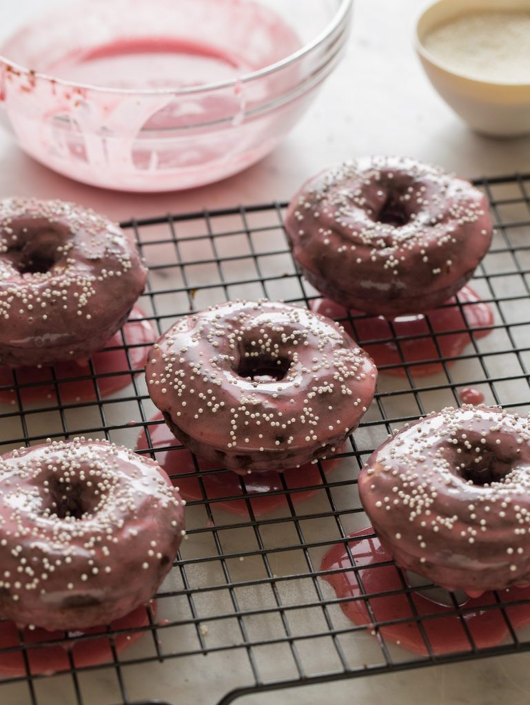 03 - Spoon Fork Bacon - Baked Chocolate Donuts