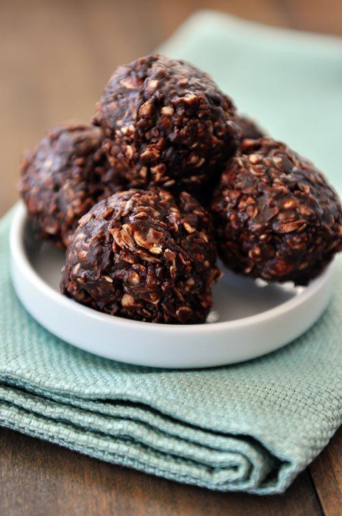 10 - Mels Kitchen Cafe - No Bake Dark Chocolate Granola Bites