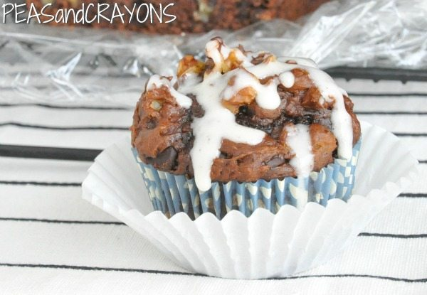 18 - Peas and Crayons - Chocolate Chip Pumpkin Muffin