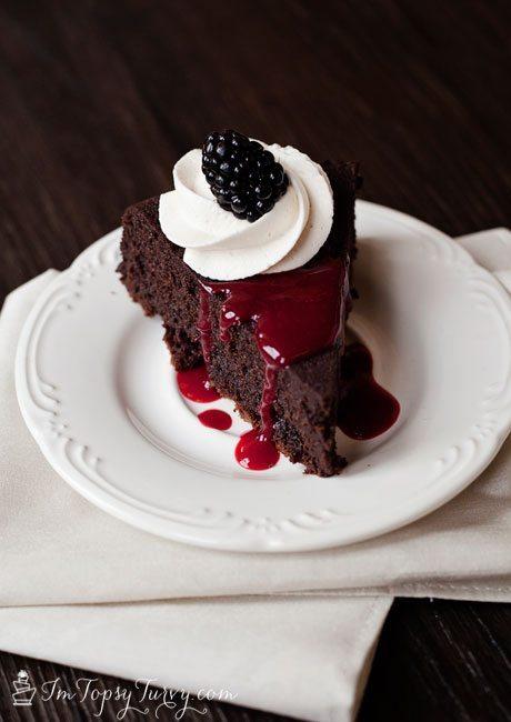 19 - Ashlee Marie - Flourless Chocolate Cake